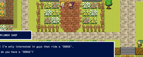 dodge quest game