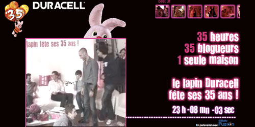35 heures du lapin Duracell