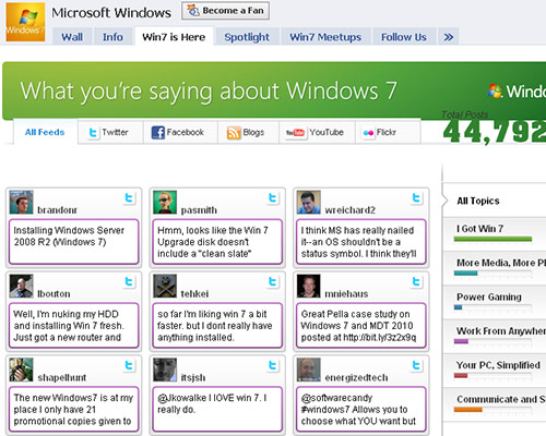 facebook-windows-7